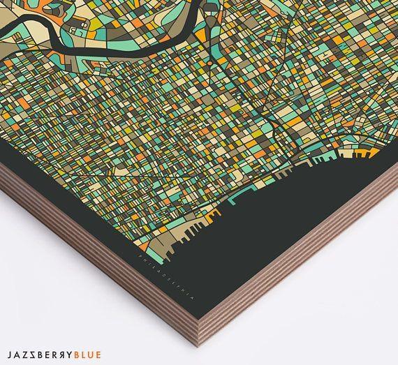 Best 25+ Philadelphia Map Ideas On Pinterest   Maps S, Map Of With Philadelphia Map Wall Art (Image 11 of 20)