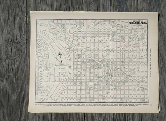 Best 25+ Philadelphia Map Ideas On Pinterest | Maps S, Map Of Within Philadelphia Map Wall Art (Image 13 of 20)