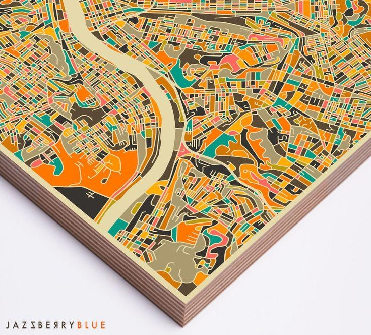 Best 25+ Pittsburgh Map Ideas On Pinterest | Pittsburgh Art Inside Pittsburgh Map Wall Art (Image 7 of 20)