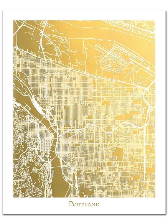 Best 25+ Portland Map Ideas On Pinterest | Map Of Portland Oregon Inside Portland Map Wall Art (View 6 of 20)
