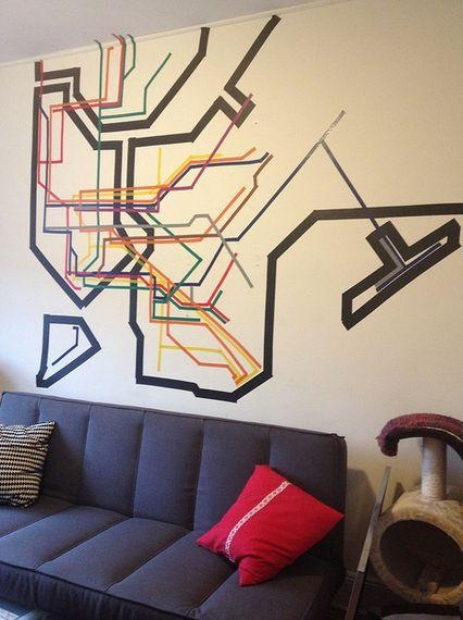 Best 25+ Subway Map Ideas On Pinterest   Ny Map, New York Subway For New York Map Wall Art (View 20 of 20)