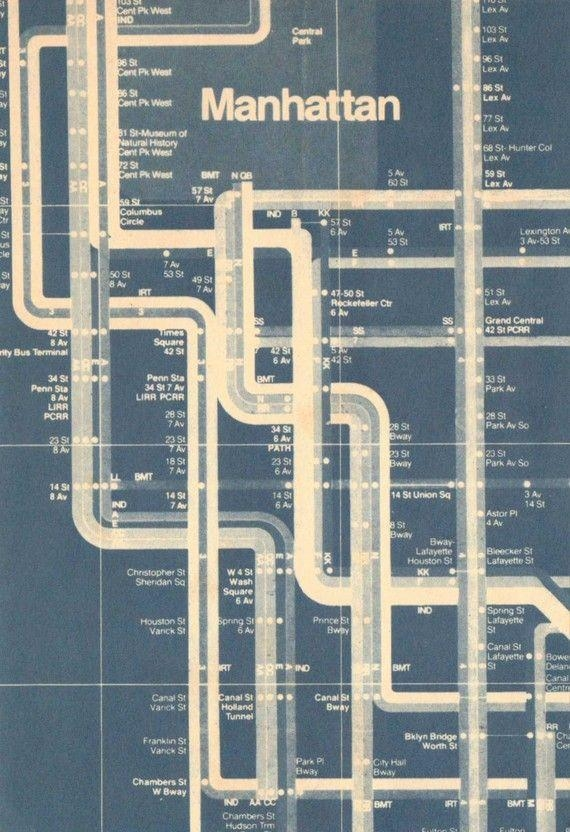 Best 25+ Subway Map Ideas On Pinterest | Ny Map, New York Subway With Regard To Nyc Subway Map Wall Art (View 11 of 20)
