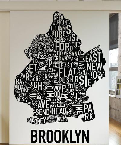 Brooklyn Wall Art | Himalayantrexplorers intended for Brooklyn Map Wall Art