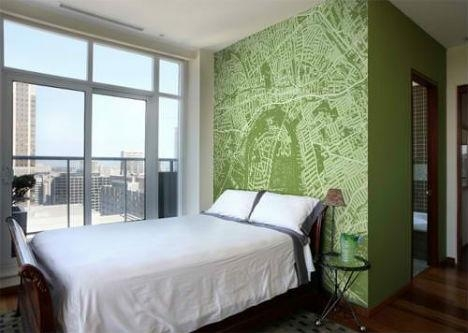 Celebrate Cities With Customizable Map Wallpaper Pertaining To City Map Wall Art (View 15 of 20)