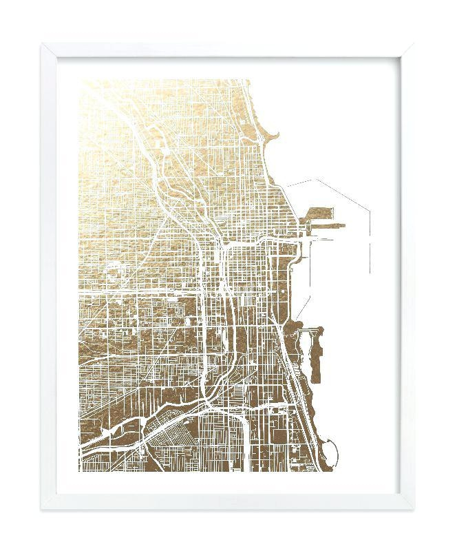 Chicago Map Wall Art Chicago Neighborhood Map Wall Art – Hydroloop Within Chicago Neighborhood Map Wall Art (Image 6 of 20)