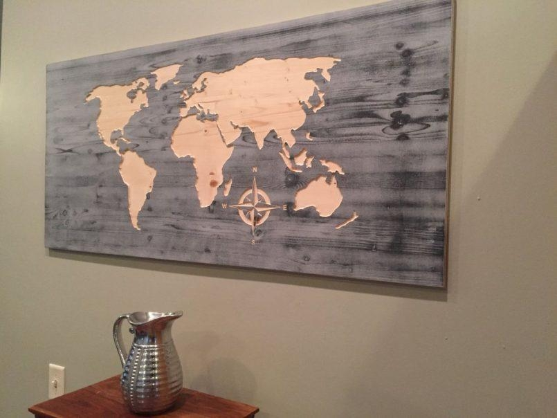 Colors : World Map Wall Art Tapestry Together With World Map Wall For Map Wall Art Canada (View 3 of 20)