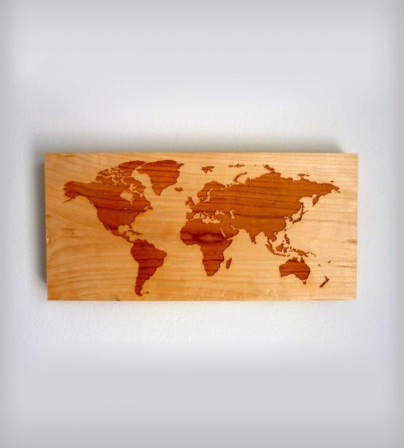 Colors : World Map Wall Art With Pins In Conjunction With World Inside Africa Map Wall Art (Image 12 of 20)