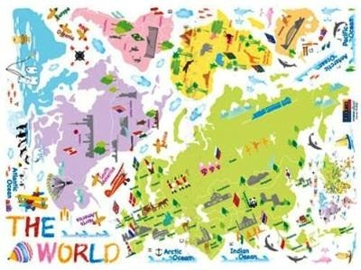 Incultureparent | 10 Best World Maps For Your Children's Room With Regard To Kids World Map Wall Art (Image 9 of 20)