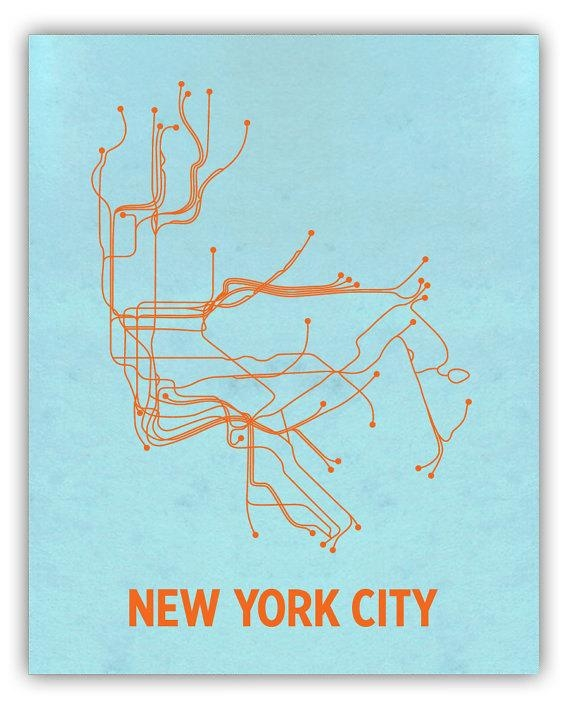 Lineposters – Love Your Subways, Love Your Posters « Markets Of In Nyc Subway Map Wall Art (View 7 of 20)