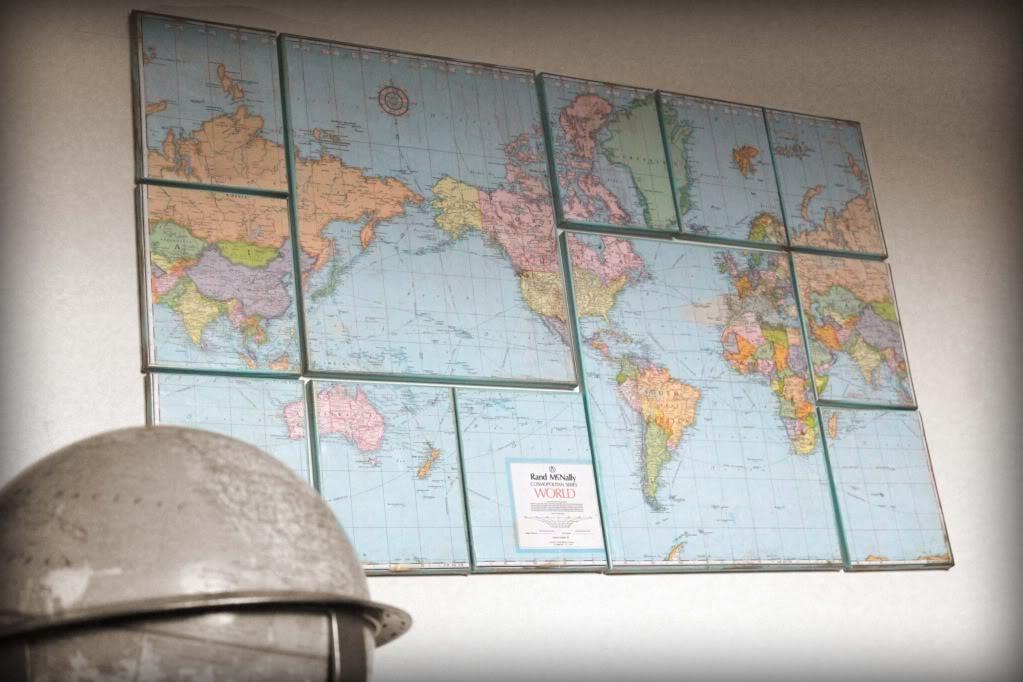 Map Collage  Infarrantlycreative – Swiftmaps In Map Wall Art Maps (Image 8 of 20)