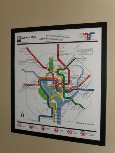 Maps For People Who Love Dc | We Love Dc Pertaining To Metro Map Wall Art (View 3 of 20)