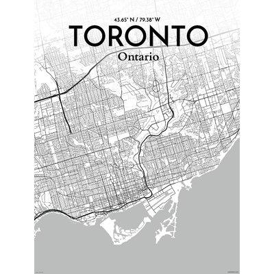 Featured Photo of Map Wall Art Toronto