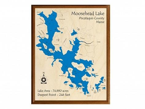 Personalized Wall Art And Cribbage Boards From Lake Art – The With Lake Map Wall Art (View 11 of 20)