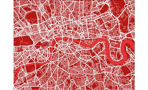 Search Results For – City Maps For Street Map Wall Art (Image 19 of 20)