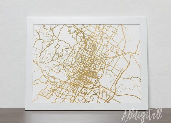The 25+ Best Austin Map Ideas On Pinterest | Austin Tx, New Year's Intended For Texas Map Wall Art (View 19 of 20)