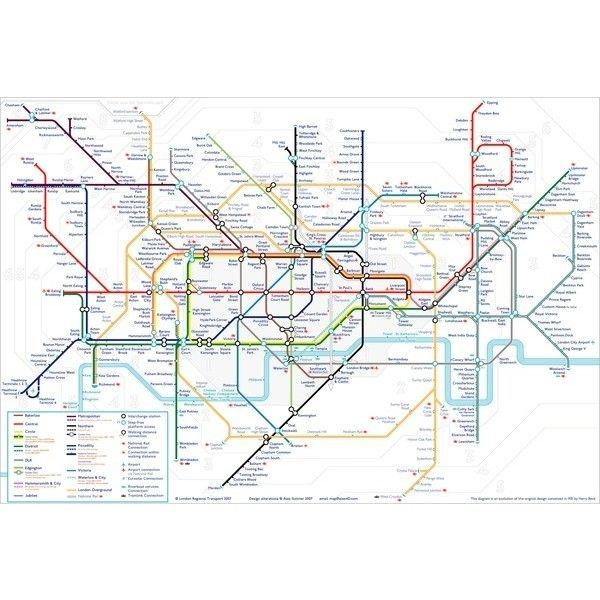 The 25+ Best London Underground Prices Ideas On Pinterest | East Intended For London Tube Map Wall Art (Image 17 of 20)