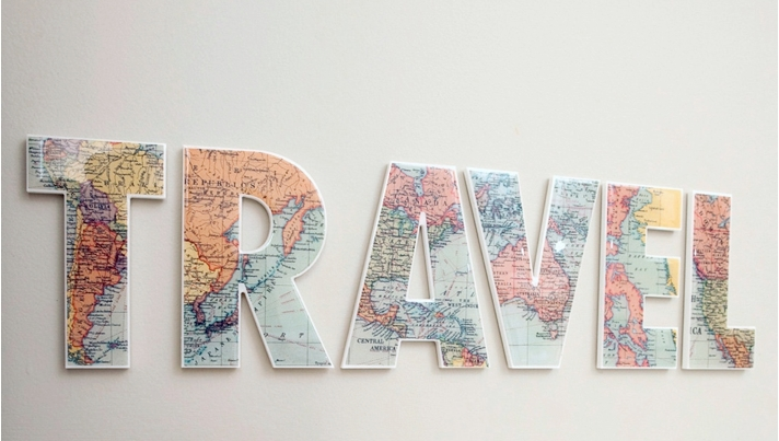 The Best Travel Gifts On Etsy | Maps & Much More | Tmt Pertaining To Travel Map Wall Art (Image 14 of 20)