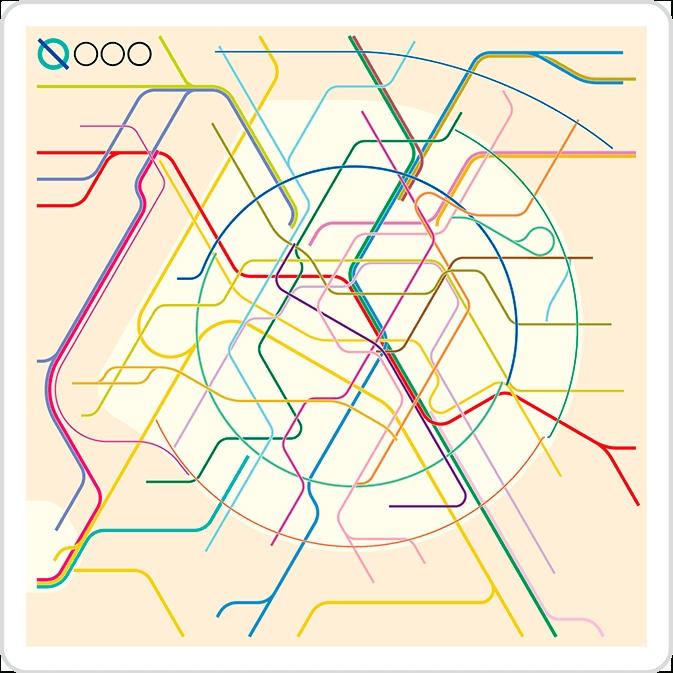 The New Paris Metro Map Regarding Metro Map Wall Art (View 19 of 20)