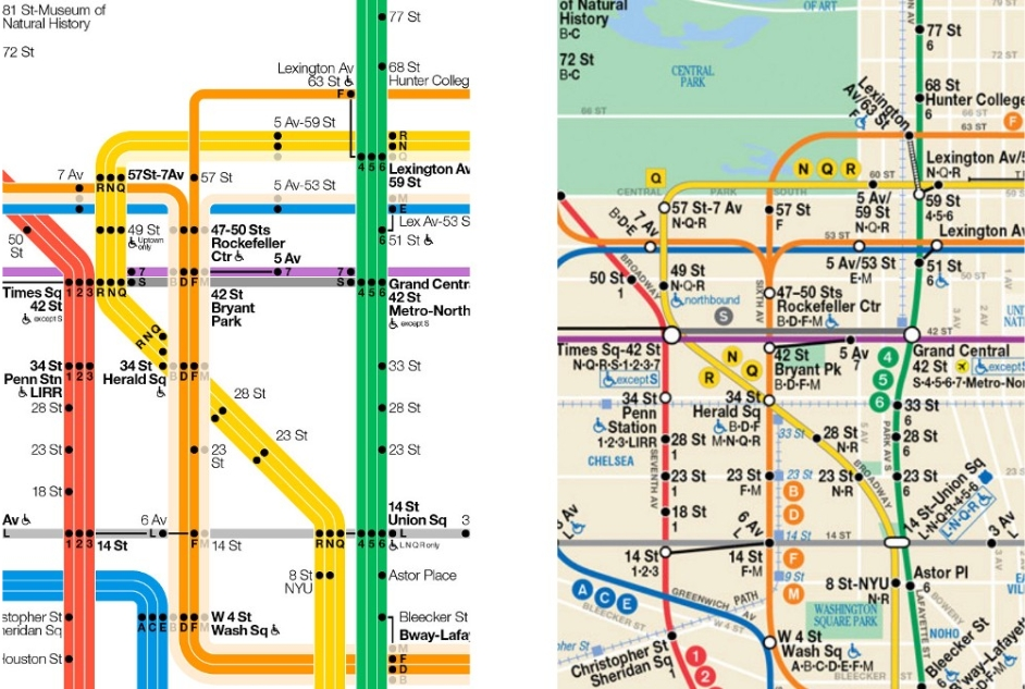 The New York City Subway Map Redesigned | Observer Intended For Nyc Subway Map Wall Art (Image 16 of 20)