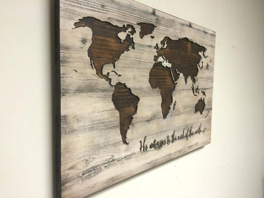 Us Map Canvas Wall Art Wooden United States Map Wall Art United Throughout Wood Map Wall Art (Image 7 of 20)