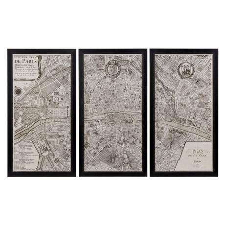 Wall Art Design Ideas : Map Of Paris Wall Art – Amusing Map Of In Nyc Map Wall Art (View 13 of 20)