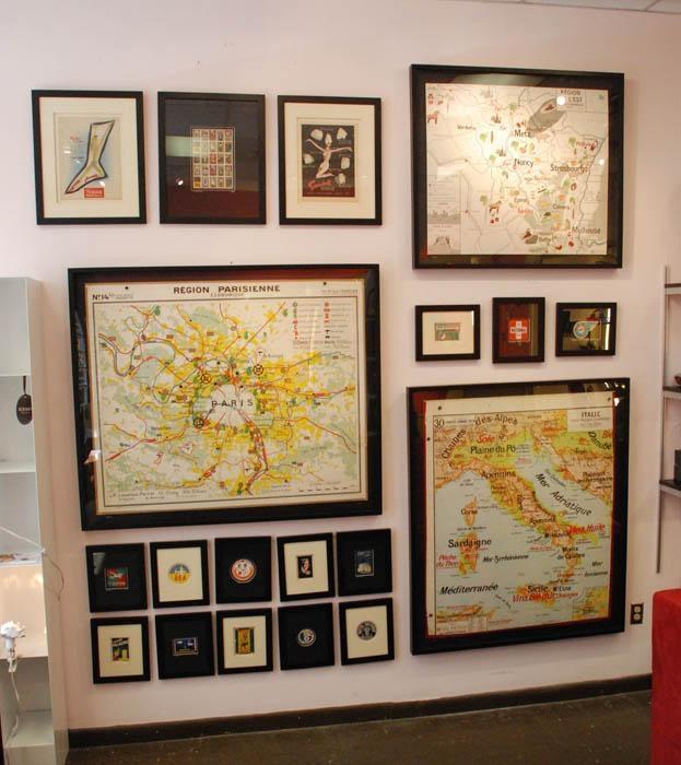 Wall Art Designs: Astounding World Decor Maps As Wall Art Vintage For Map Wall Art Maps (View 3 of 20)