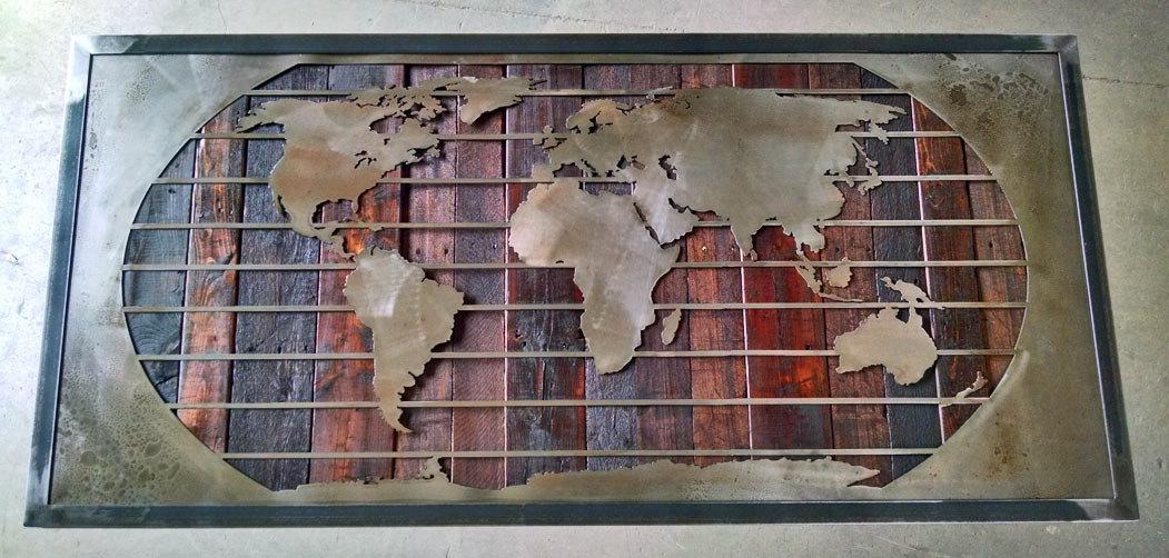 Wall Art Designs: Most Historical World Map Wall Art Framed Throughout Framed Map Wall Art (View 8 of 20)