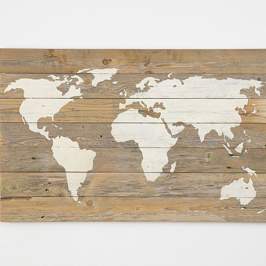 Wall Art Designs: Wooden World Map Wall Art World Map Canvas World Throughout Canvas Map Wall Art (View 14 of 20)