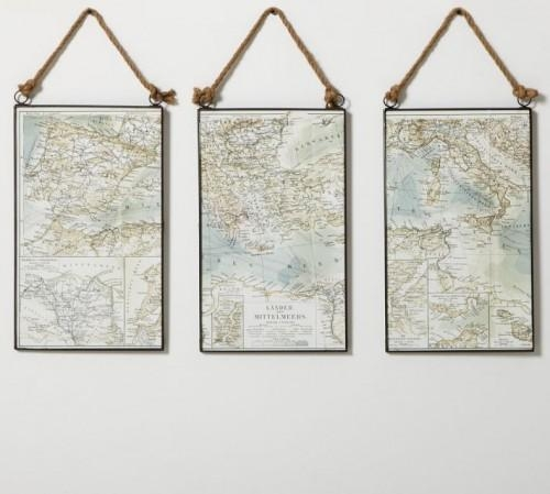 Wall Art Designs: World Framed Wall Art Maps Canvas United States Regarding Map Wall Art Maps (View 13 of 20)