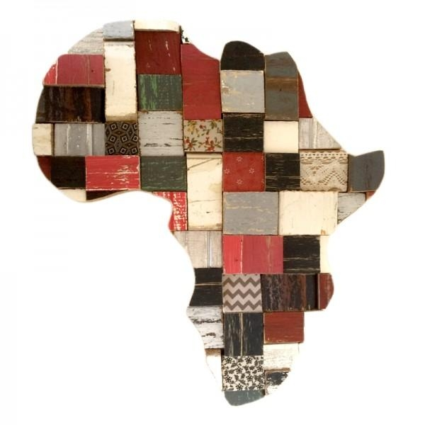 Wall Art | Product Categories | Shakethedust Regarding Africa Map Wall Art (Image 14 of 20)