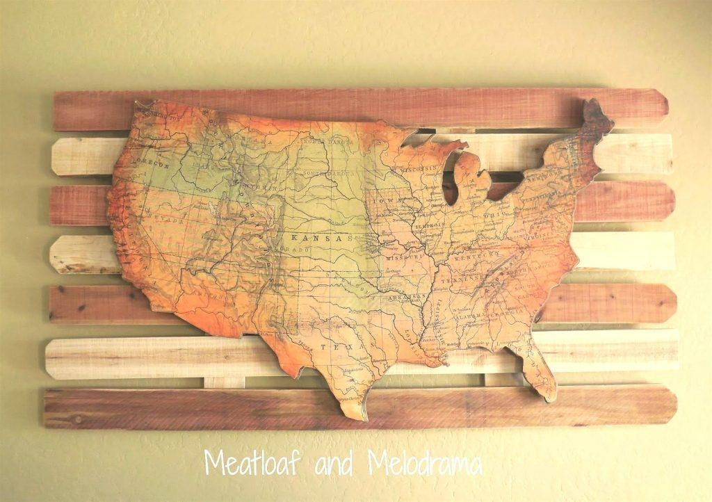 Wall Arts ~ Diy String Map Wall Art World Maps For Wall Art World In String Map Wall Art (View 14 of 20)