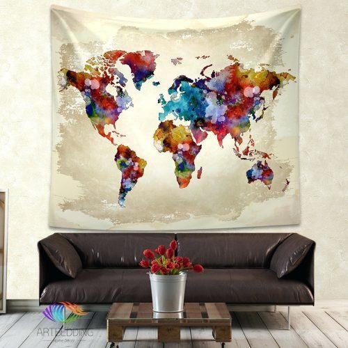 Wall Arts ~ Map Wall Art Ideas Map Wall Art Canada World Map In Map Wall Art Canada (Image 17 of 20)