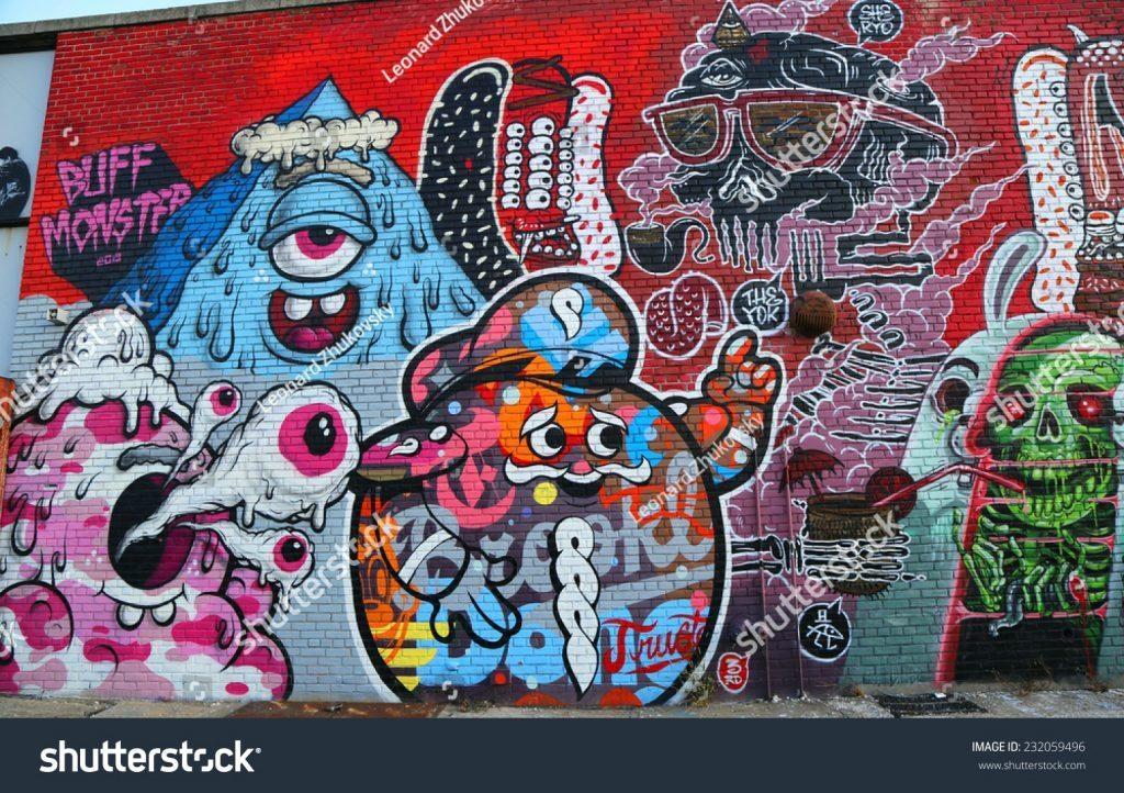 Wall Arts ~ New York Brooklyn Bridge Wall Art Brooklyn Skyline Inside Brooklyn Map Wall Art (View 6 of 20)