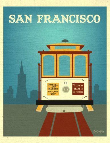 Wall Arts ~ Zoom San Francisco Map Wall Art San Francisco Golden Intended For San Francisco Map Wall Art (View 13 of 20)