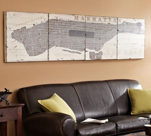 Wooden Wall Art Map. 12 Gallery Pics For Big Wood Wall Art (Image 20 of 20)