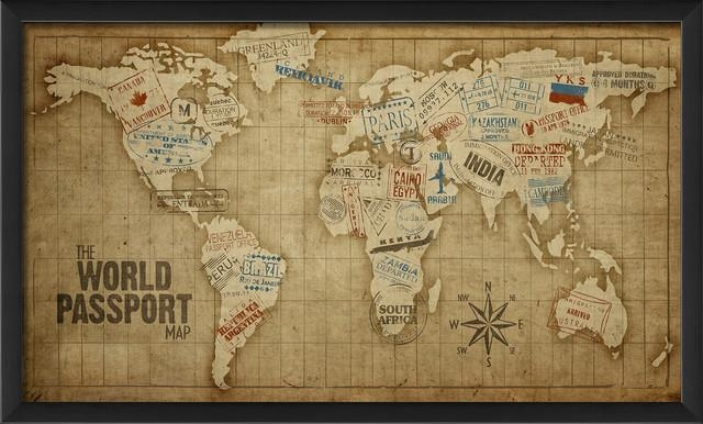 World Map Prints – Gse.bookbinder (Image 18 of 20)