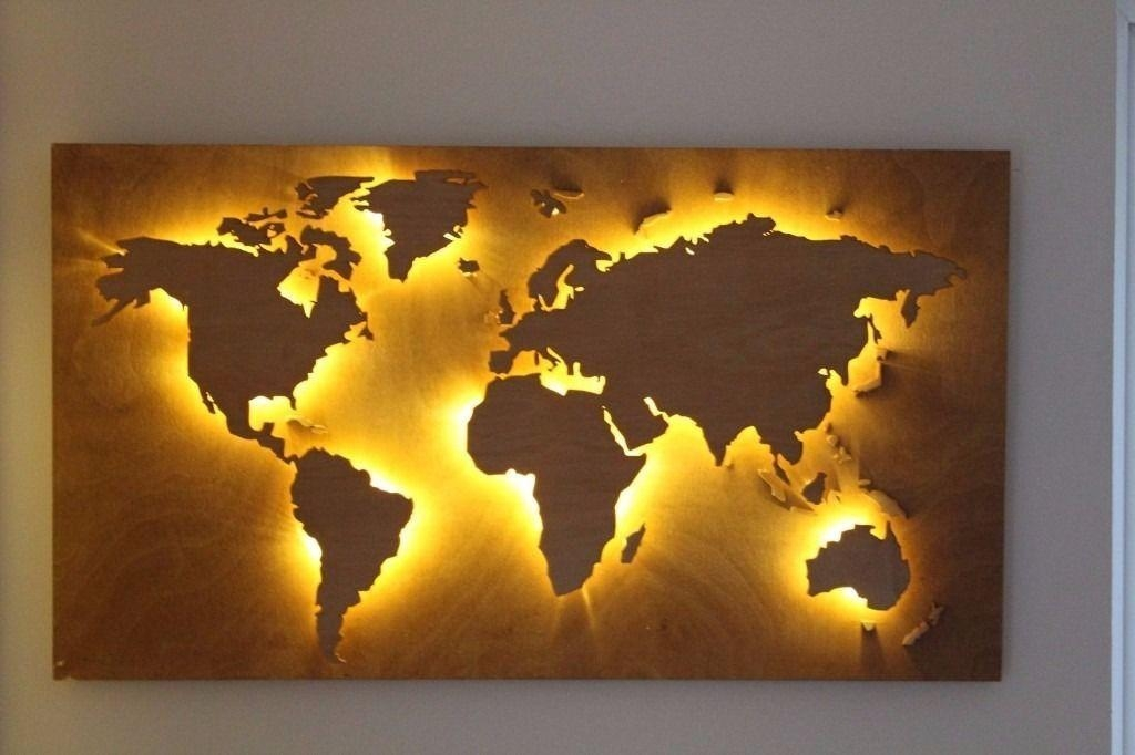 World Map Wall Art — Rs Floral Design : Diy Mural World Map Wall Art Inside Worldmap Wall Art (Image 15 of 20)