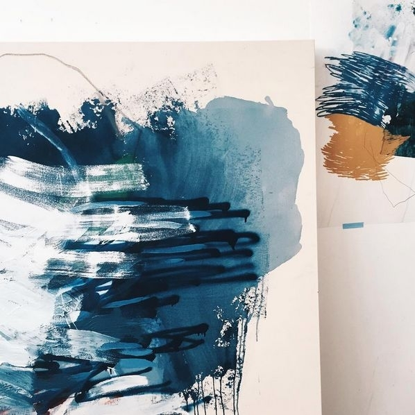 110 Best Heather Day Images On Pinterest | Abstract Art, Abstract With Regard To Dwell Abstract Wall Art (Image 1 of 15)