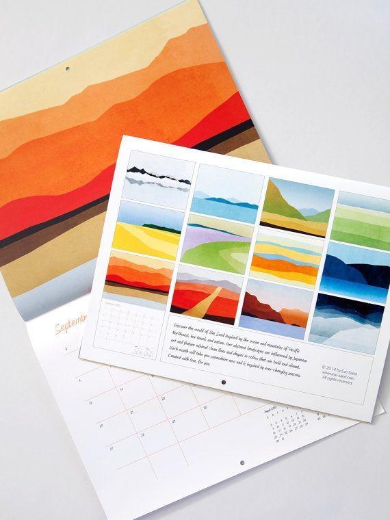 113 Best Calendars Images On Pinterest | Calendar, Desk Calendars Regarding Abstract Calendar Art Wall (Image 1 of 20)