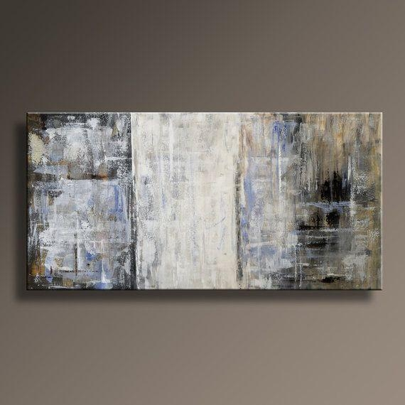 117 Best Abstract Painting Images On Pinterest | Painting Abstract In Blue And Brown Abstract Wall Art (Image 1 of 20)