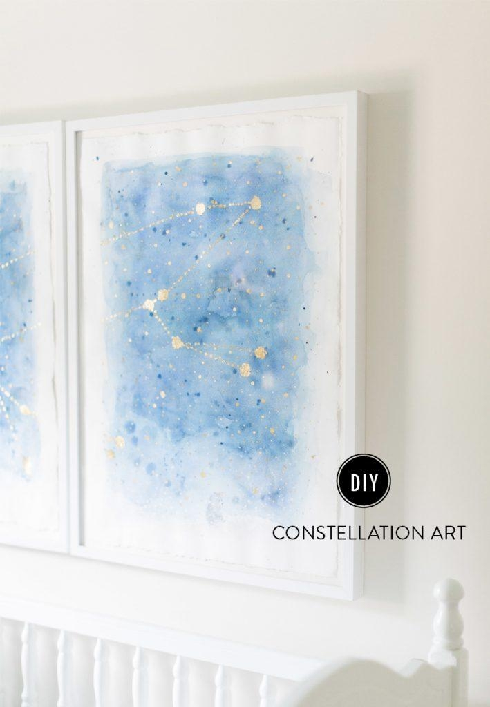 13 Creative Diy Abstract Wall Art Projects – Lolly Jane Pertaining To Diy Abstract Wall Art (Image 2 of 20)