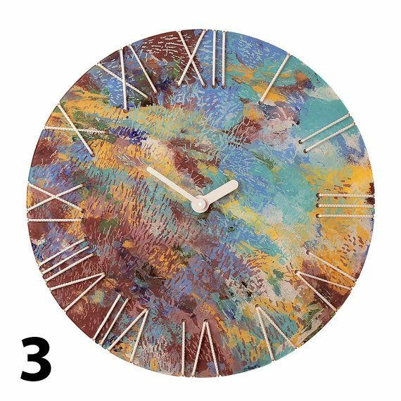 15 Best Wall Clocks Images On Pinterest | Creative Studio, Wall With Regard To Abstract Clock Wall Art (View 17 of 20)