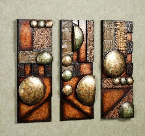 15 Modern And Contemporary Abstract Metal Wall Art Sculptures Pertaining To Abstract Metal Wall Art (Image 1 of 20)
