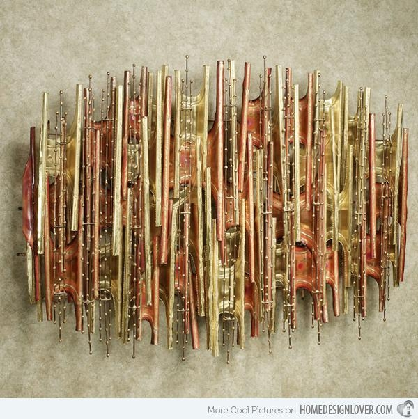 15 Modern And Contemporary Abstract Metal Wall Art Sculptures With Sculpture Abstract Wall Art (View 14 of 20)