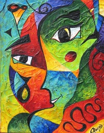 """19 Best Abstract Expressionismchristopher """"oraced"""" Decaro For Abstract Expressionism Wall Art (Image 2 of 15)"""