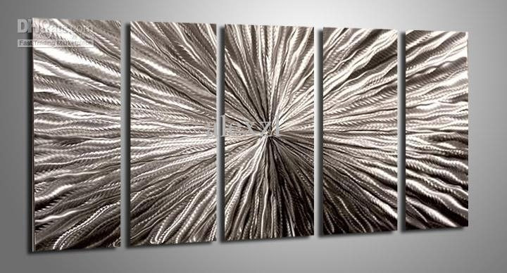 2018 Metal Oil Painting,abstract Metal Wall Art Sculpture Painting Intended For Abstract Metal Wall Art (Image 2 of 20)