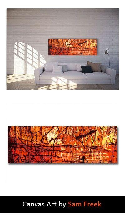 23 Best Orange Canvas Wall Art Images On Pinterest | Canvas Art Inside Limited Edition Canvas Wall Art (View 11 of 20)
