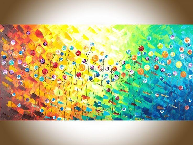 2415 Best Home Decor Images On Pinterest | Abstract Art Paintings Regarding Acrylic Abstract Wall Art (View 5 of 20)