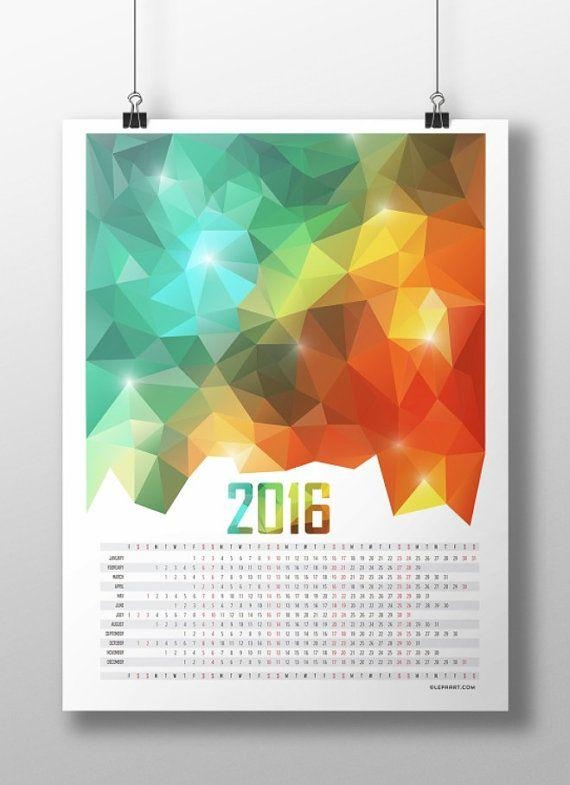 Calendar Abstract Art : Best ideas abstract calendar art wall