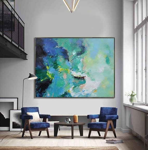 25 Best Ideas About Abstract Canvas Art On Pinterest Huge Extra Inside Extra Large Abstract Wall Art (Image 1 of 15)